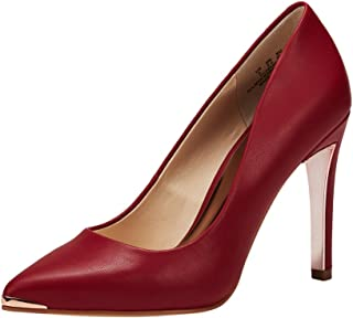 JENN ARDOR Women's Closed Pointed Toe Pumps Stiletto High Heels Office Lady Wedding Party Dress Heeded Shoes