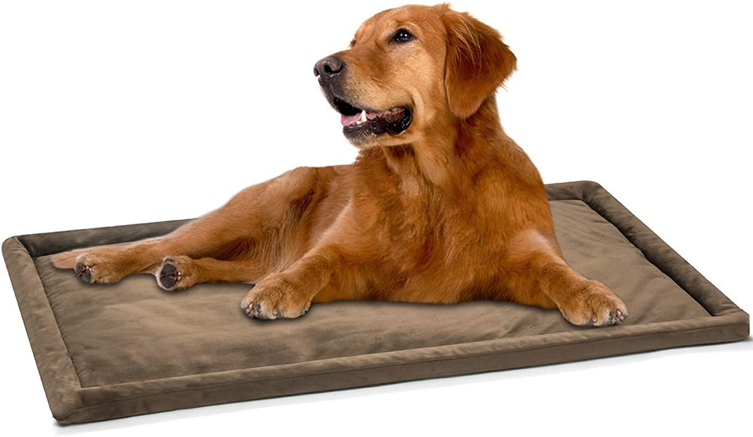 DogJog Dog Kennel pad Washable Mat Warm Breathable Comfortable Dog Bed for Crate (40  x 26 )