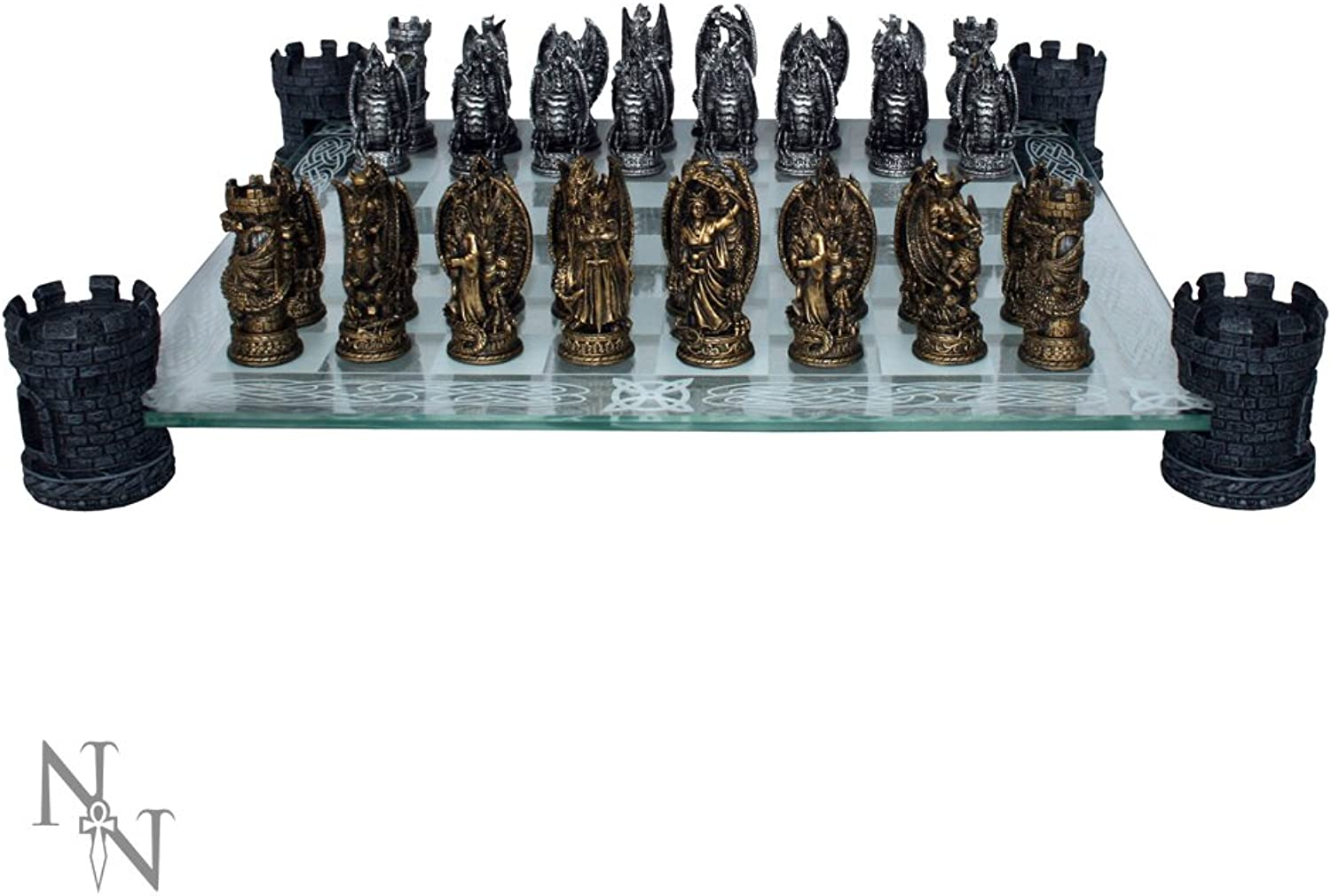 Kingdom of the Dragon Schach Set