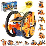 Kidpal 12-in-1 Solar Powered Robot Toys, Education Activities Kits for Kids Ages 8-12 and Older, DIY Science Kit STEM Projects Engineering Toy for Teen 8 9 10 11 12 Years Old, Boys & Girls Gifts Ideas
