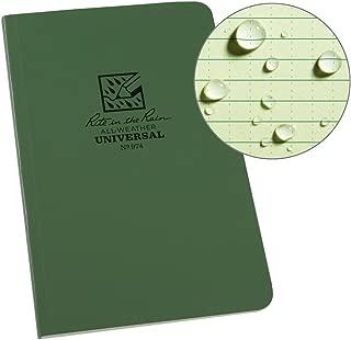 Rite In The Rain Weatherproof Soft Cover Notebook, 4 5/8