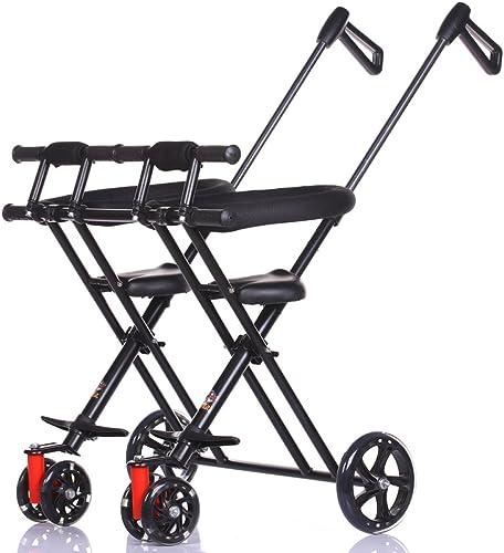 hasta 42% de descuento Triciclo Triciclo Triciclo Gemelo De Los Cabritos - Carro Plegable Portátil Al Aire Libre del Viaje,A  diseño simple y generoso