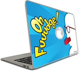 VictoryStore Removable Vinyl Cover - Movie Quote - A Christmas Story Oh Fudge!, Vinyl Decal for MacBook Pro, Size 15 Inches
