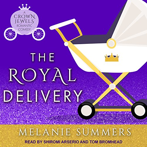 The Royal Delivery audiobook cover art