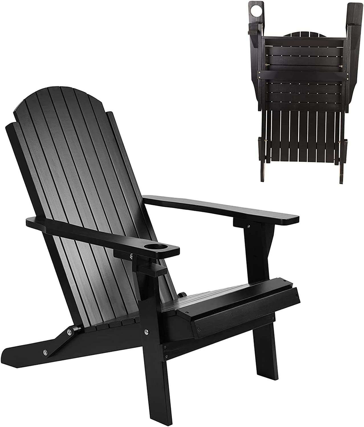 Outdoor Cheap bargain Adirondack Colorado Springs Mall Chair Weather Wood Resistant Solid