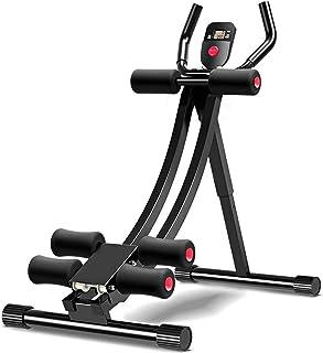 Abdominal Coaster AB Trainers Workout Machine Foldbar fitnessutrustning ABS träningsutrustning för hemgymnastik