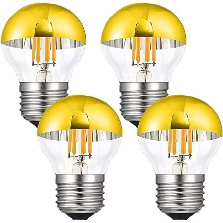 Classic Edison Filament LED Bulb Glass Chandelier E27 Base Globe Light G45//A60