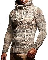 Leif Nelson LN20227 Men's Knitted Pullover