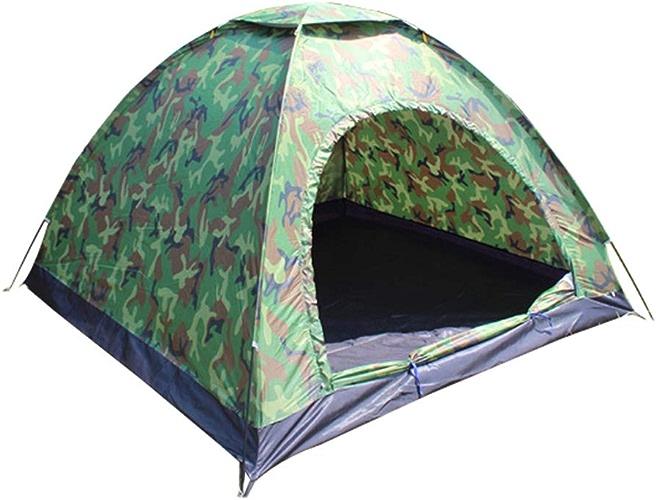SXBSOUTDOOR 3-4 Personnes Tente de Camouflage Tente de Camping en Plein air Tente de la Plage Cadeau de Voyage