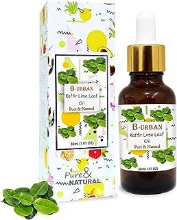 B-URBAN Kaffir Lime Leaf Oil 100% Natural Pure Undiluted Uncut Essential Oil 30ml