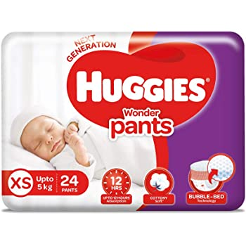 Huggies Wonder Pants, Extra Small (XS) Size Diapers, 24 Count