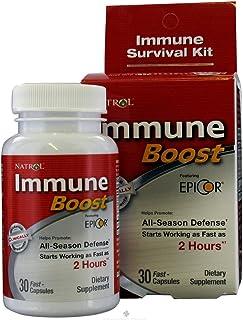 Natrol Immune Boost All-season Defense Featuring Epicor - 30 Capsules, 3 Pack