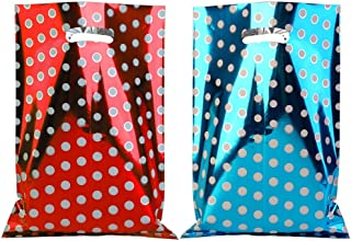 Party Favor Bags 40 pcs Metallic Gift Bags for Birthday Goodies