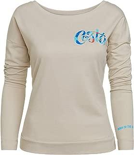 Women's Santina Long Sleeve Shirt, Sand, Medium