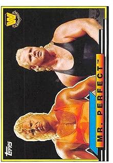 2018 Topps Heritage WWE Big Legends #BL-36 Mr. Perfect Wrestling Trading Card