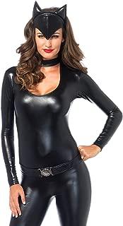 Women's 3 Piece Frisky Feline Catsuit Costume