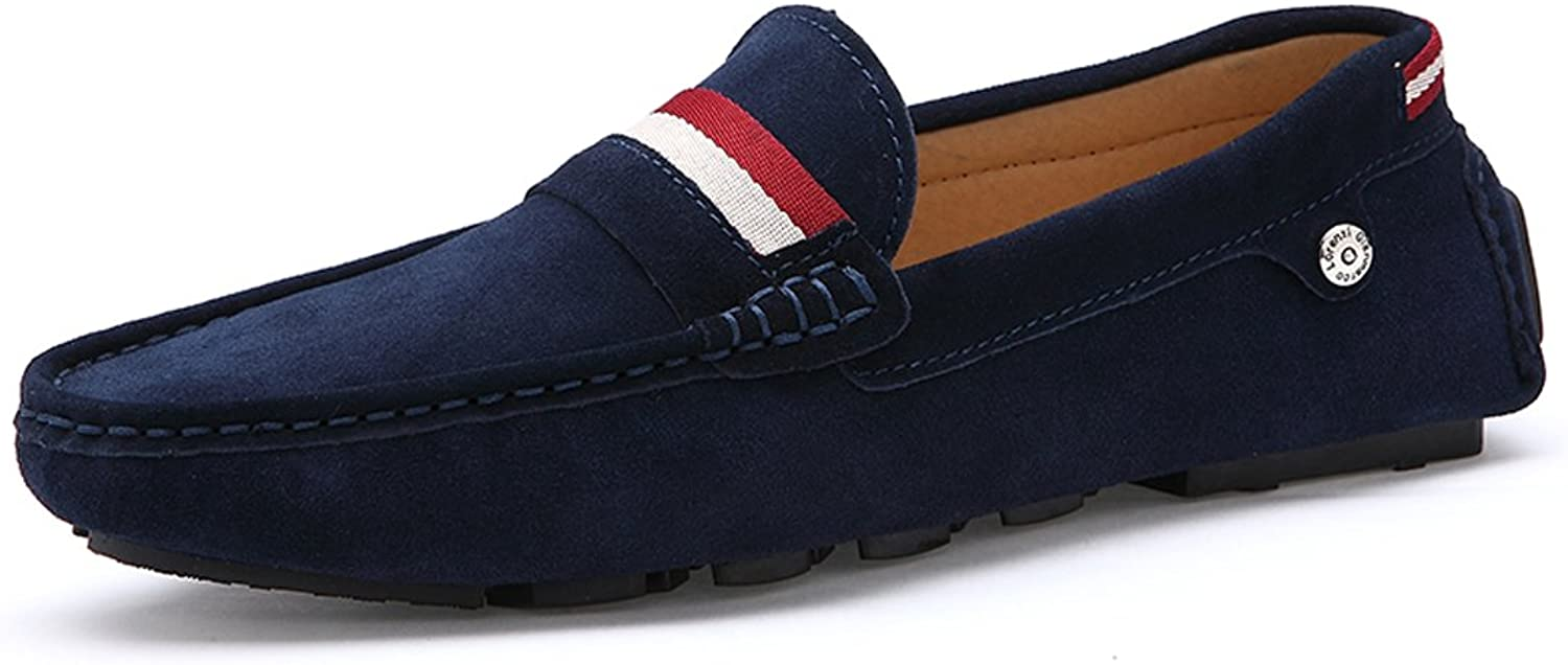 Suzanne vega Men's Genuine Leather Casual Leisure Oxfords Boat shoes