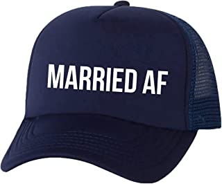 Married AF Truckers Mesh snapback hat