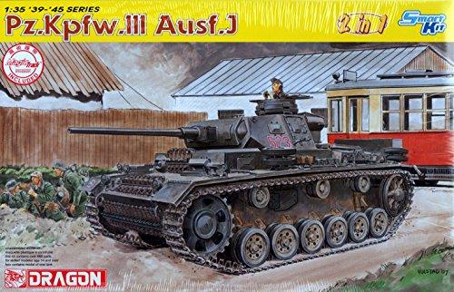 Dragon - D6394 - Maquette - Panzer III AUSF J - Echelle 1:35