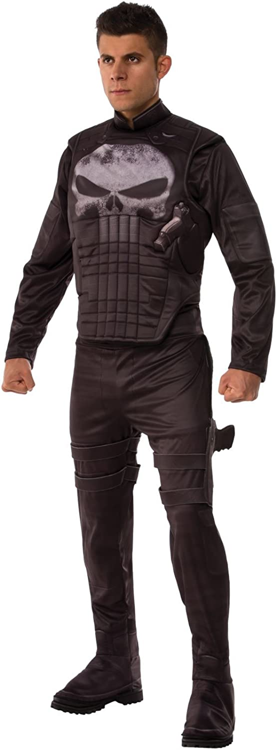 Rubie's Men's Marvel Universe Punisher Attention brand Costume Deluxe Factory outlet