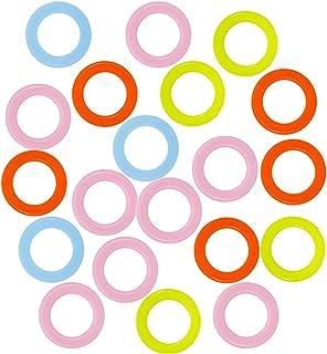 200 pcs plastique à tricoter marqueurs, Marqueurs À Tricoter Marqueur de Verrouillage, pour Debutant Marqueurs Tricot Croc...