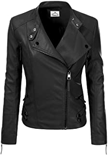 VearFit Women Jacqueline Designer Red, Pink, Tan, Gray, Black and Brown Real Lambskin Leather Jacket