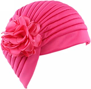 xzbailisha Women Indian Stretchy Turban Colorful Wrap Chemo Hat