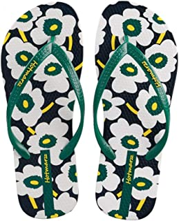 963593f46ece MEIZOKEN Women Floral Print Flip Flops Flower Slippers Beach Sandals  Designer Summer Shoes Pool Shower