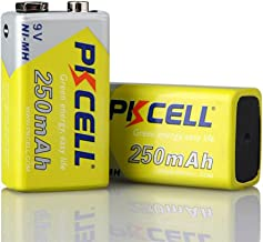 9V 250mAh Rechargeable Battery Ni-MH Type (2)