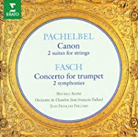 Pachelbel: Canon / Fasch: Concerto for trumpet by Jean-Franテァois Paillard (1995-02-07)