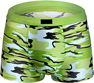 Macondoo Mens Underwear Camo Print 2-Pack Soft Boxer Briefs