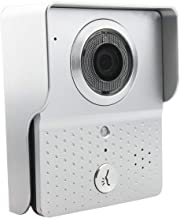 Dinly Wi-Fi Enabled Video Doorbell, Wireless Visual Intercom Door Bell for Home Security Camera Smartphone Control