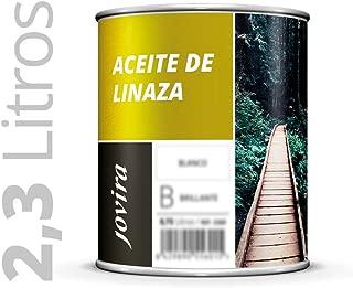 ACEITE DE LINAZA Nutrición y protección de la madera. 2.3L