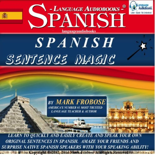 Spanish Sentence Magic audiobook cover art