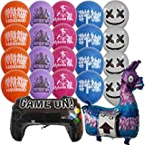 BESTY Video Game Party Supplies, Birthday Balloons, Bracelets, Cupcake Toppers (20 Balloons)