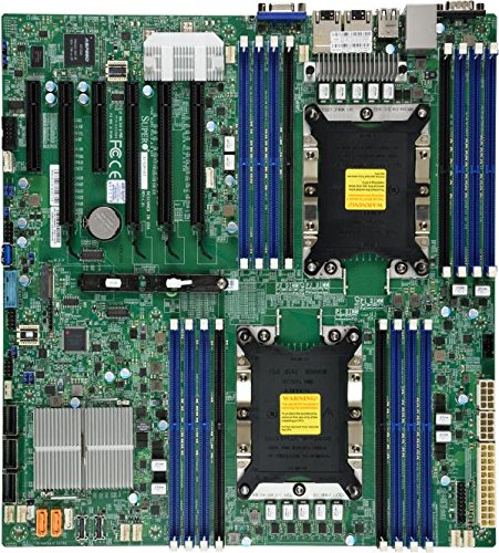 Supermicro x11dpi-n Intel C621 Extended ATX Videokaart moederbord – Desktop moederbord (xtended ATX, server, Intel, 10.4 GT/s, 205 W, DDR4-SDRAM)