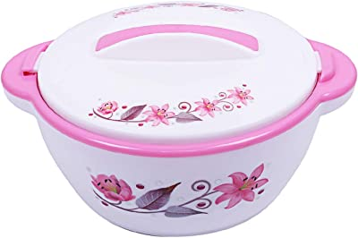 Kuber Industries Insulated Orchid Casserole/Hotpot 1500 Ml (Pink) -CTLTC12560