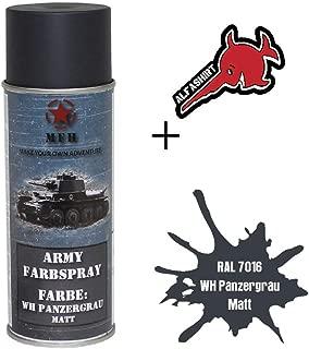 Army RAL 7016 WH 31737 - Pintura en espray, color gris