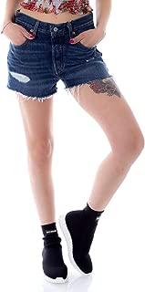 Levi's Luxury Fashion Womens 563270018 Blue Shorts   Season Outlet