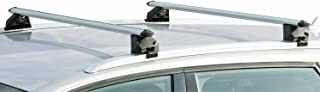 VDP Alu Relingträger CRV107A kompatibel mit Peugeot 308 Kombi 5 Türer ab 2014 abschliessbar