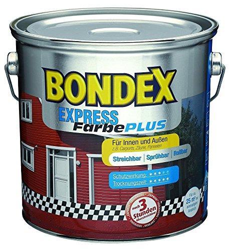 Bondex Express Farbe Plus Montana 484/2,5 Liter