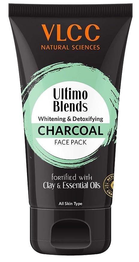 危険等同等のVLCC Ultimo Blends Charcoal Face Pack, 100g