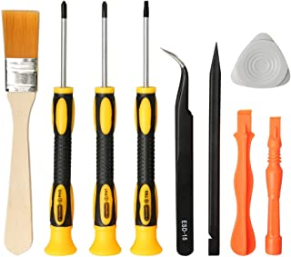 E.Durable Complete Screwdriver Set Repair Cleaning Tool Kit for Sony PlayStation 4 - PS4 Security Torx Screwdriver T9 (TR9) Phillips PH0 PH1 (PS4)