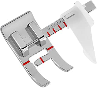 YEQIN Adjustable Guide Sewing Machine Presser Foot - Fits All Low Shank Snap-On Singer, Brother, Babylock, Euro-Pro, Janome, Kenmore, White, Juki, New Home, Simplicity, Elna and More! (Style11)