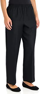 Alfred Dunner Women's Petite Polyester Pull-On Pants -...