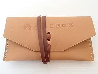 FIREBOX (ファイヤーボックス) レザーケース ナチュラル ナノストーブ 純正 専用 収納袋 (3インチ ウッドストーブ用)【日本正規品】