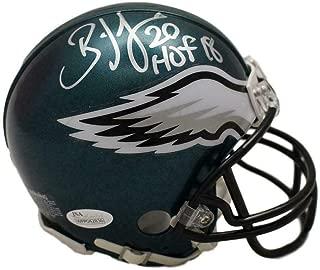Brian Dawkins Autographed Mini Helmet - HOF 22035 - JSA Certified - Autographed NFL Mini Helmets
