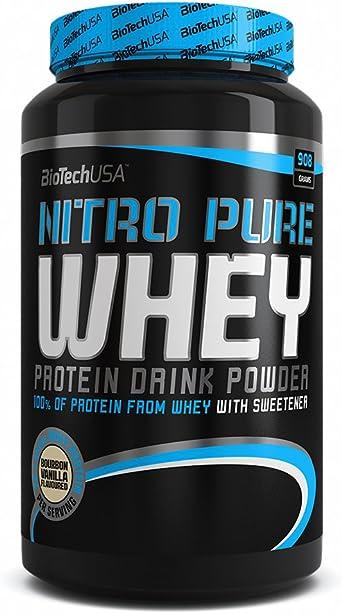 BioTech Nitro Pure Whey Proteínas Sabor Chocolate - 908 gr