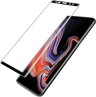 حامي الشاشة الزجاج المقسى لسامسونج غالاكسي نوت9 مضاد للخدش الزجاج تغطية كاملة حالة ودية لمجرة