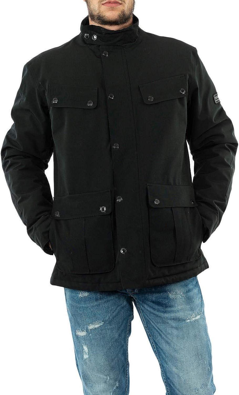 Barbour mwb0819 bk11 - Chaqueta y chaquetas, color negro
